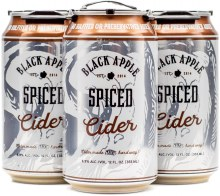 Black Apple Cider Spiced Hard Cider 4pk 12oz Can