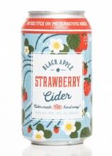 Black Apple Cider Strawberry Hard Cider 4pk 12oz Can