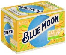 Blue Moon Mango Wheat 6pk 12oz Can