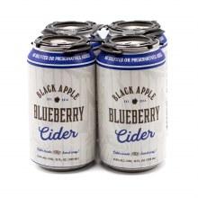 Black Apple Cider Blueberry Hard Cider 4pk 12oz Can