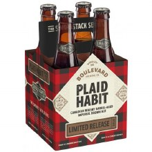 Boulevard Plaid Habit 4pk 12oz Btl