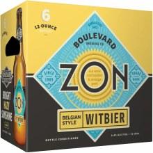Boulevard Zon Witbier 6pk 12oz Btl