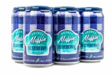 Lost Forty Brunch Muffin Blueberry 6pk 12oz Can