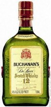 Buchanan's DeLuxe 12 Year Blended Scotch Whisky 750ml
