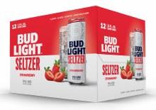 Bud Light Strawberry Seltzer 12pk 12oz Can