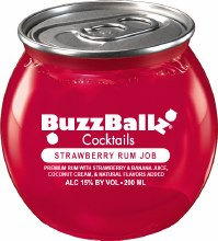 Buzzballz Strawberry Rum Job 200ml