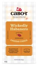 Cabot Hot Habanero Cheddar 8oz