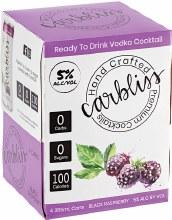 Carbliss Vodka Black Raspberry 4pk 355ml