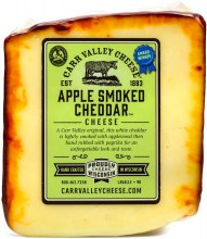 Carr Valley Apple Smoked Cheddar Priced Per Pound