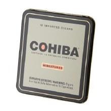 """Cohiba Miniatures Tin (10pk) 3.875"""" x 24 Ring Guage"""