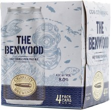 Cigar City Benwood Hazy DIPA 4pk 12oz Can