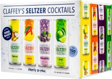 Claffeys Seltzer Cocktails Variety Pack 12pk 12oz Can