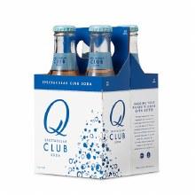 Q Club Soda 4pk 6.7oz Btl