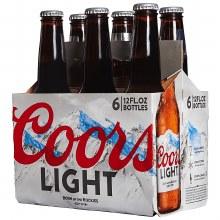Coors Light 6pk 12oz Btl