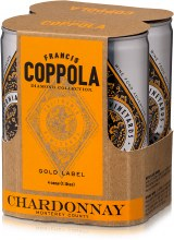 Francis Ford Coppola Diamond Collection Chardonnay 4pk 250ml Can