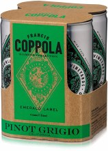 Francis Ford Coppola Diamond Collection Pinot Grigio 4pk 250ml Can