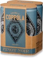 Francis Ford Coppola Diamond Collection Pinot Noir 4pk 250ml Can