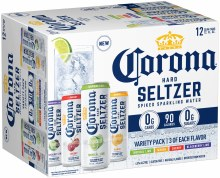 Corona Seltzer Variety Pack 12pk 12oz Can