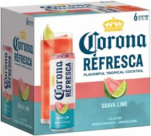 Corona Refresca Guava Lime 6pk 12oz Can