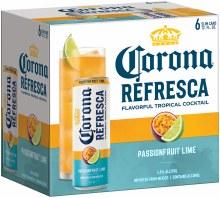 Corona Refresca Passionfruit Lime 6pk 12oz Can