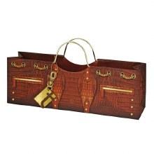 Croc Wine Purse Bag