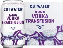 Cutwater Grape Vodka Transfusion 4pk 12oz Can