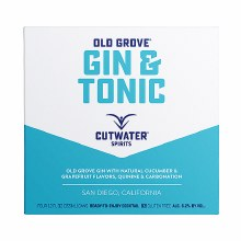 Cutwater Old Grove Gin & Tonic 4pk 12oz Can