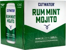 Cutwater Rum Mint Mojito 4pk 12oz Can
