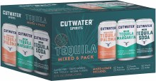 Cutwater Tequila Variety Pack 6pk 12oz Can