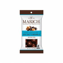 Marich Dark Chocolate Sea Salt Caramels 2.1oz