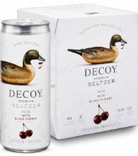 Decoy Premium Seltzer Rosé with Black Cherry 4pk 250ml Can