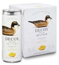 Decoy Premium Seltzer Chardonnay with Lemon & Ginger 4pk 250ml Can