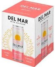 Del Mar Grapefruit Wine Seltzer 4pk 12oz