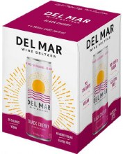 Del Mar Black Cherry Wine Seltzer 4pk 12oz Can