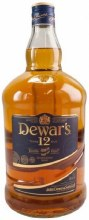 Dewar's 12 Year Double Aged Blended Scotch Whisky 1.75L