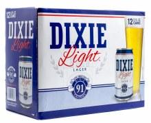 Dixie Beer Dixie Light 12pk 12oz Can