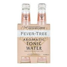 Fever Tree Aromatic Tonic Water 4pk 200ml Btl
