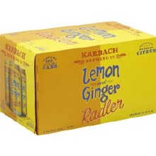 Karbach Lemon & Ginger Radler 6pk 12oz Can