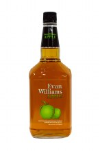 Evans Williams Apple Bourbon Whiskey 1.75L