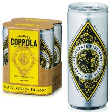 Francis Ford Coppola Diamond Collection Sauvignon Blanc 4pk 250ml Can