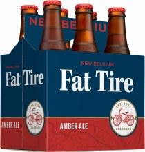 New Belgium Fat Tire Amber Ale 6pk 12oz Btl