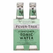 Fever Tree Elderflower Tonic 4pk 6.8oz Btl