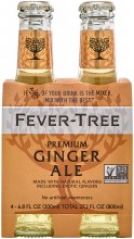 Fever Tree Ginger Ale 4pk 200ml Btl