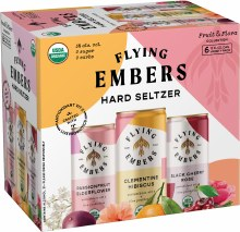 Flying Embers Fruit and Flora Hard Seltzers 6pk 12oz Can