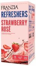 Franzia Refresher Strawberry Rose 3L