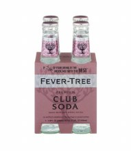 Fever Tree Club Soda  4pk 6.8oz Btl