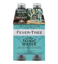 Fever Tree Citrus Tonic Water 4pk 200ml Btl