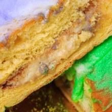 Gambinos Bakery King Cake Bavarian Cream