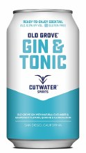 Cutwater Old Grove Gin & Tonic 12oz