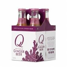 Q Ginger Beer 4pk 6.7oz Btl